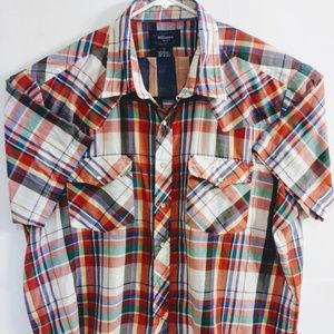 Williams Bay Mens 3XL Pearl Snaps Western Shirt
